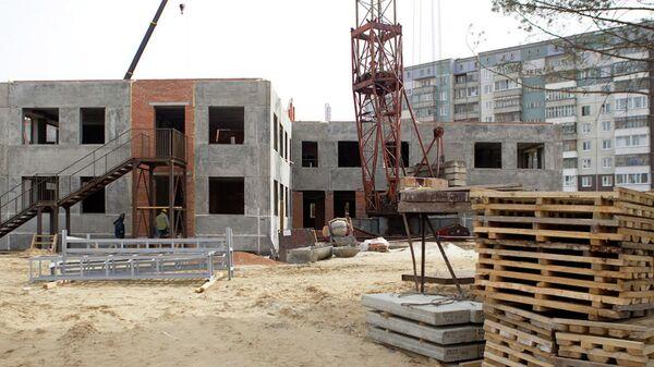 Строительство детского сада в городе Северске (Томская область)