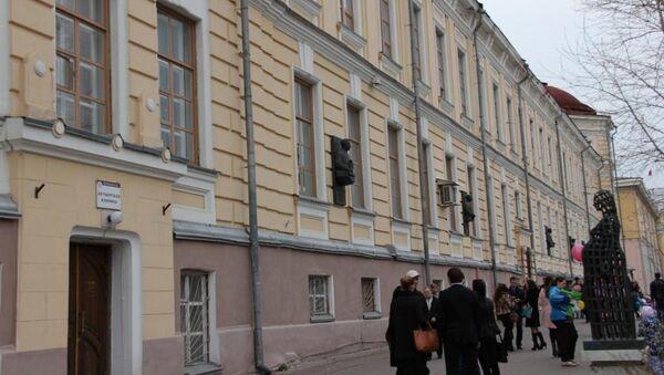 Здание акушерской клиники СибГМУ, архивное фото