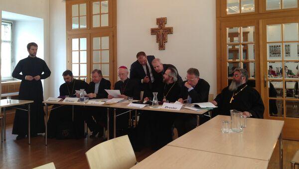 Участники конференции обсуждают итоговый документ