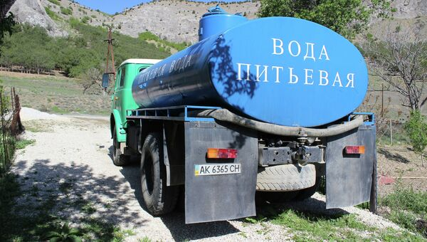 Ситуация с пресной водой в Крыму. Архивное фото