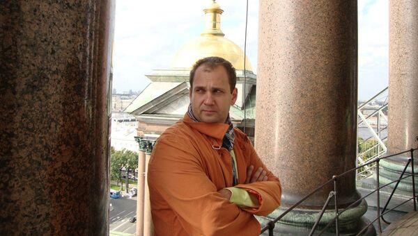 Координатор акции Бессмертный полк Сергей Лапенков