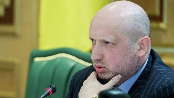 Секретарь СНБО Украины Александр Турчинов. Архивное фото