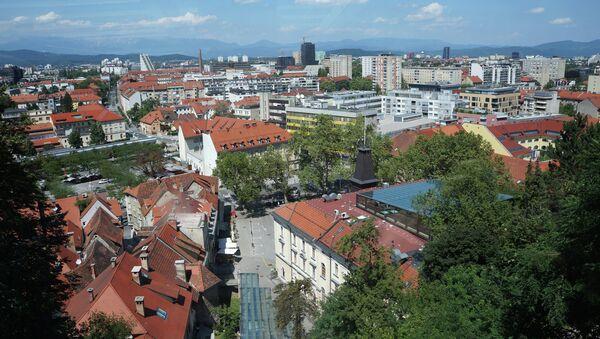 Любляна. Словения. Архивное фото