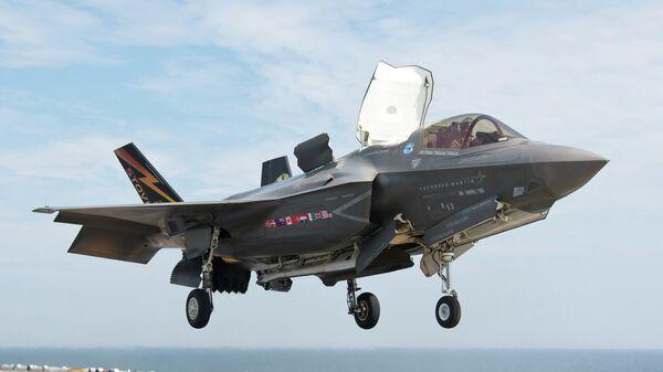 Истребитель Lockheed Martin F-35 Lightning II. Архивное фото