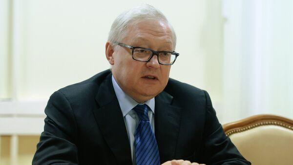 Заместитель главы МИД РФ Сергей Рябков. Архивное фото
