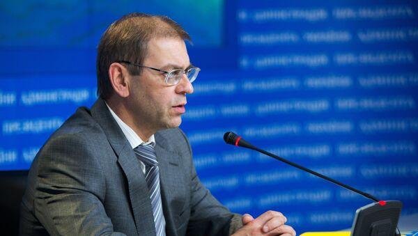 Председатель комитета Верховной рады по вопросам национальной безопасности и обороны Сергей Пашинский. Архивное фото