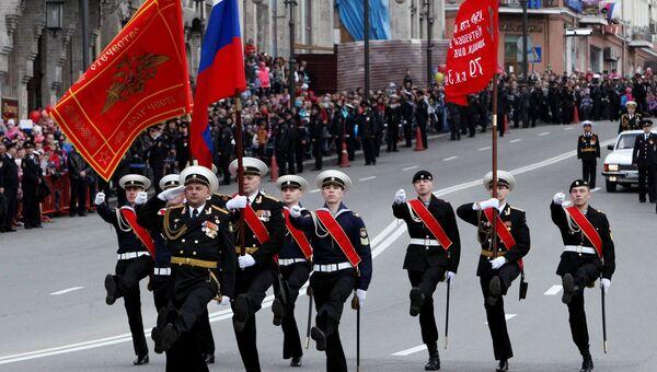 Парад Победы во Владивостоке. Архивное фото