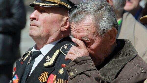 Концерт для ветеранов в Луганске