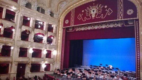 Театр в Одессе, в котором солист балета Большого театра Меркурьев поставил спектакль