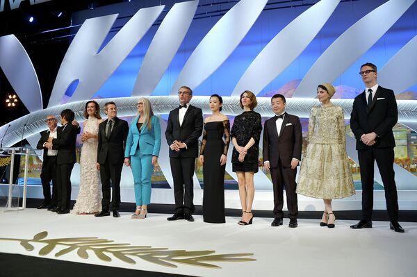 Состав жюри 67-го Каннского кинофестиваля во время церемонии открытия 67-го Каннского фестиваля