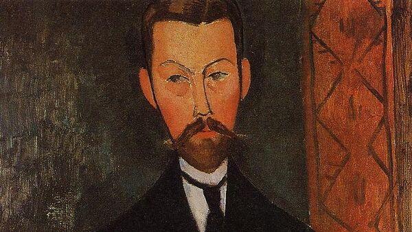 Портрет Поля Александра работы Амедео Модильяни