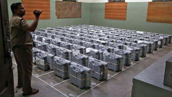 Перед подсчетом голосов на выборах в Индии