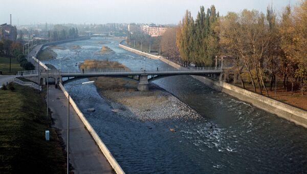 Вид на реку Терек. Архивное фото