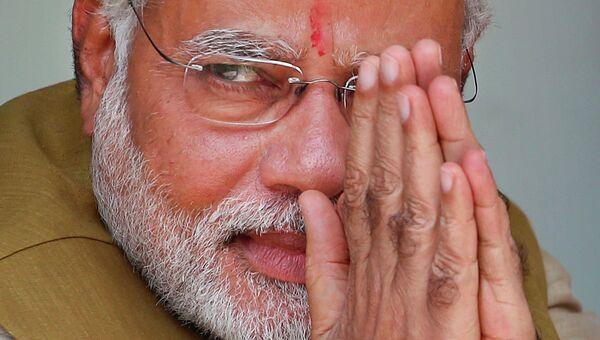 Главный министр индийского штата Гуджарат Нарендра Моди. Архивное фото