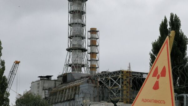 Чернобыльская АЭС, Украина. Архивное фото