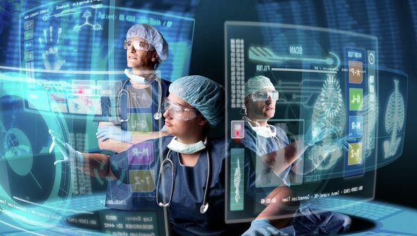 IT технологии в медицине. Архивное фото