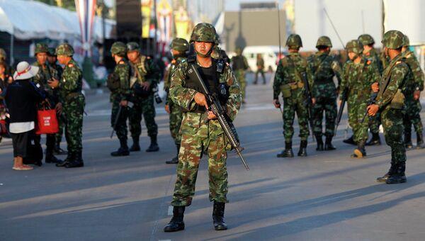 Солдаты армии Тайланда