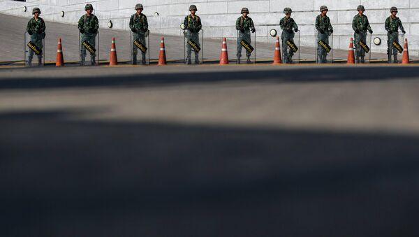 Армия Таиланда. Архивное фото