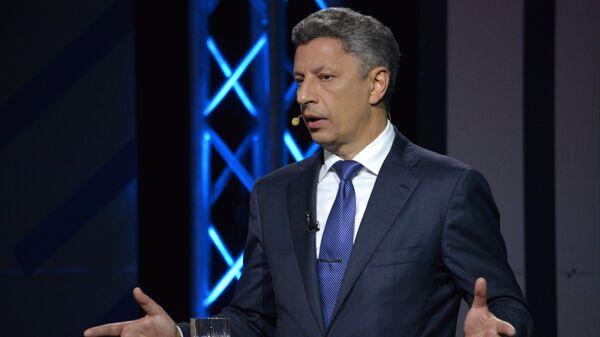 Депутат Верховной рады, лидер Оппозиционной платформы — За жизнь Юрий Бойко.