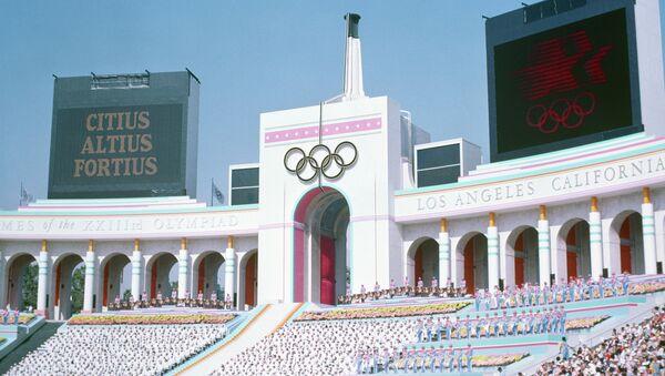 Церемония открытия летних Олимпийских игр 1984 года в Лос-Анджелесе