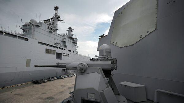 Система Иджис на борту военного корабля США. Архивное фото