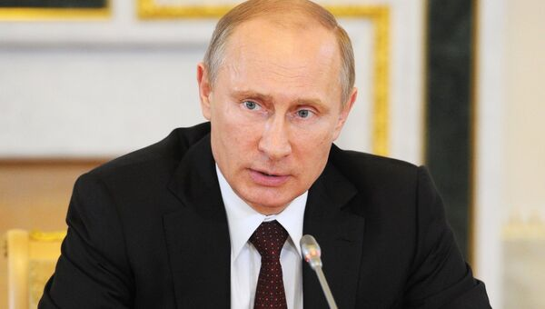 Владимир Путин принимает участие в работе ПМЭФ
