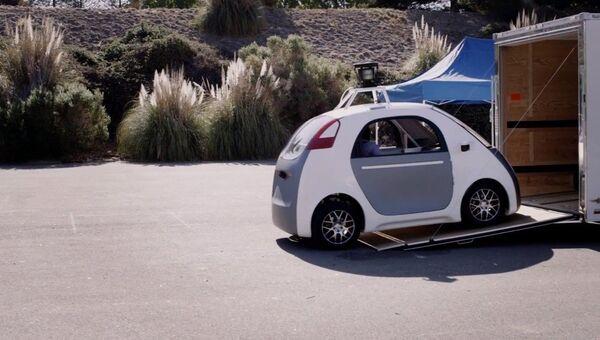 Google представил самоуправляемый автомобиль без педалей и руля