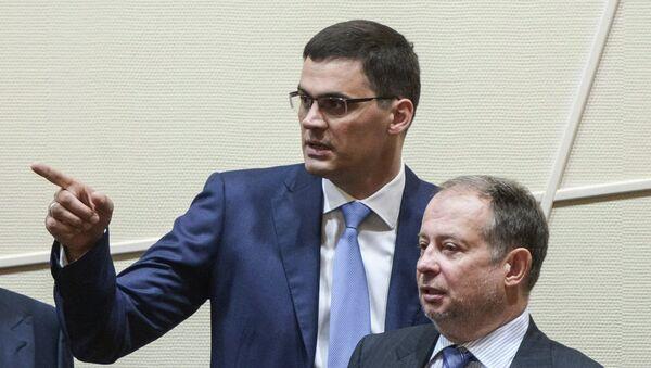 Александр Попов (слева) и Владимир Лисин