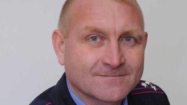 Начальник управления боевой и специальной подготовки главного управления внутренних войск МВД Украины генерал-майор Сергей Кульчицкий