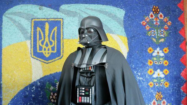Лидер Интернет-партии Украины Дарт Вейдер. Архивное фото.