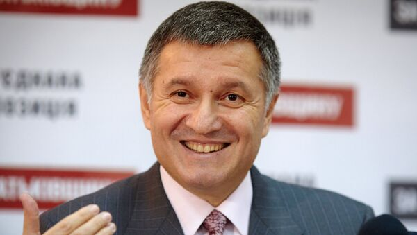 Исполняющий обязанности главы МВД Украины Арсен Аваков. Архивное фото
