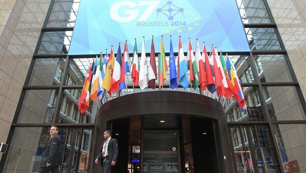 Саммит G7 в Брюсселе