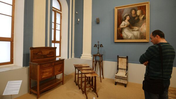 Выставка новых экспонатов Государственного исторического музея. Архивное фото