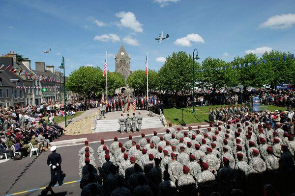 Праздничное мероприятие по случаю 70-летия высадки союзников в Нормандии