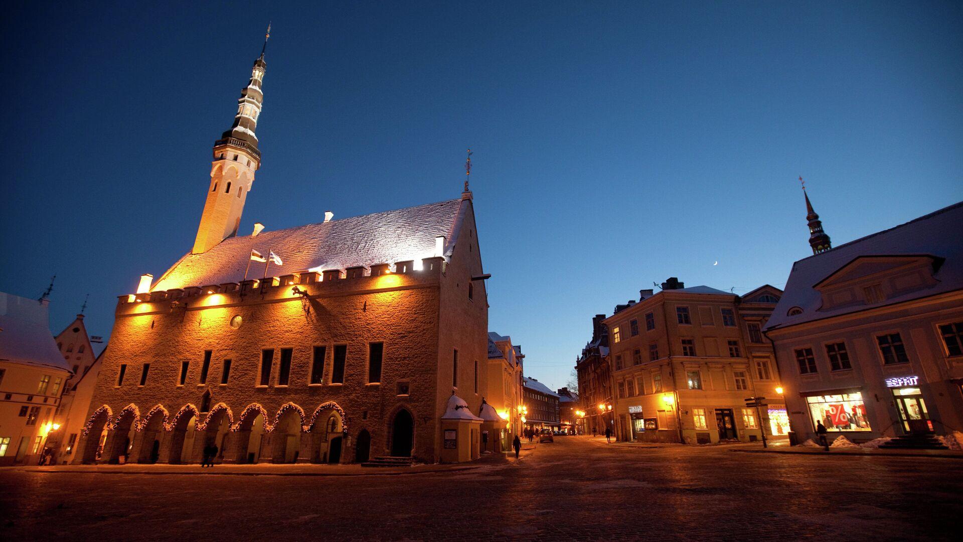 Исторический центр Таллина - Старый город - РИА Новости, 1920, 23.11.2020