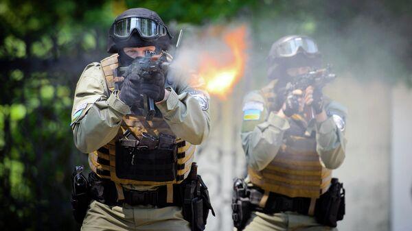Украинский спецназ, архивное фото