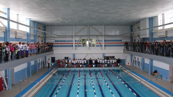 В Заринске заработал первый в городе бассейн