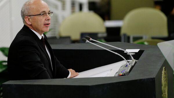 Президент Швейцарии Ули Маурер, архивное фото