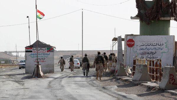 Курдские силы безопасности. Архивное фото