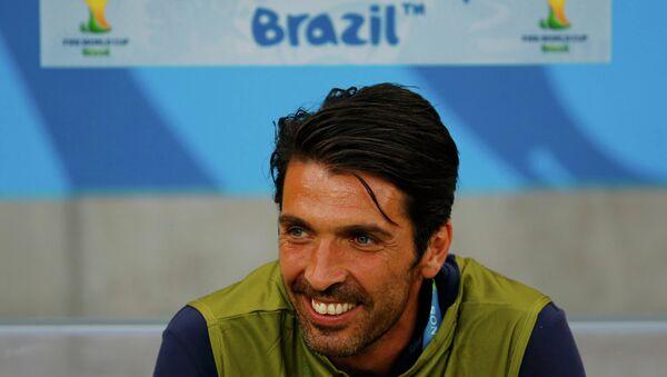 Основной голкипер сборной Италии по футболу Джанлуиджи Буффон