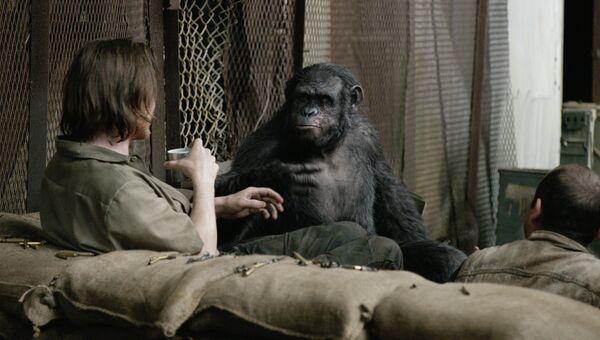 Кадр из фильма Планета обезьян: Революция Мэтта Ривза