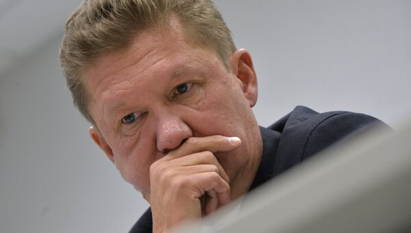 Глава Газпрома Алексей Миллер. Архивное фото