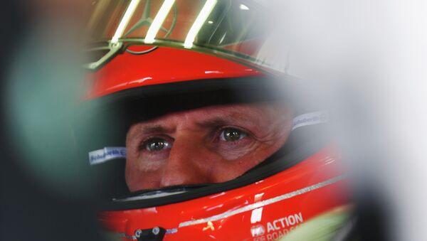 Немецкий автогонщик Михаэль Шумахер. Архивное фото