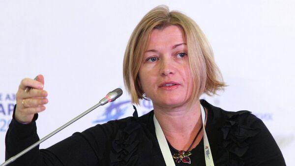 Депутат Верховной Рады Украины Ирина Геращенко. Архивное фото
