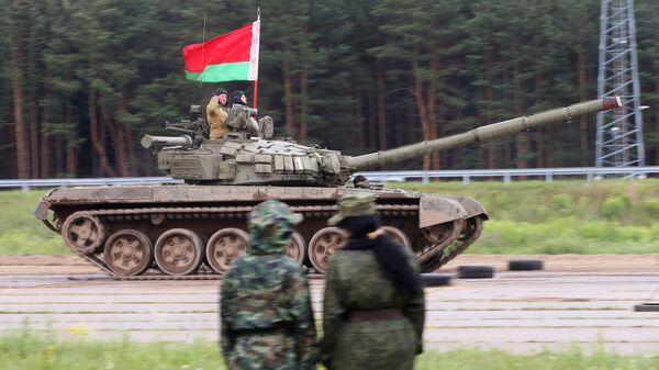 Танк Т-72. Белоруссия