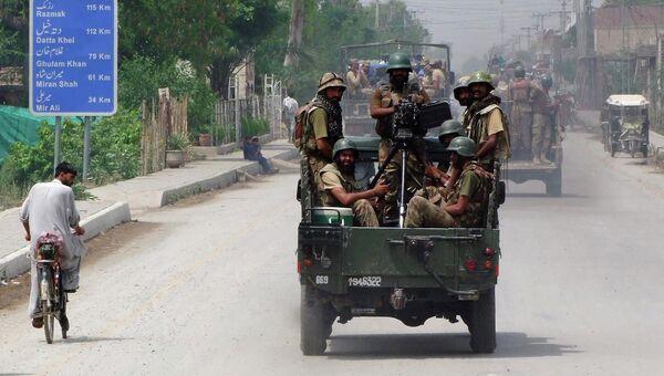 Пакистанские военнослужащие