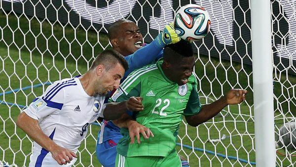Матч Босния и Герцеговина - Нигерия в рамках ЧМ-2014