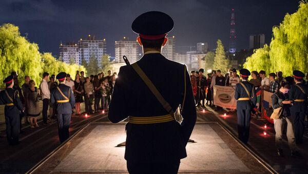 Акции ко Дню памяти и скорби в городах России. Архивное фото