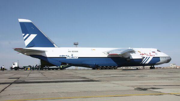 Самолет Ан-124 Руслан. Архивное фото