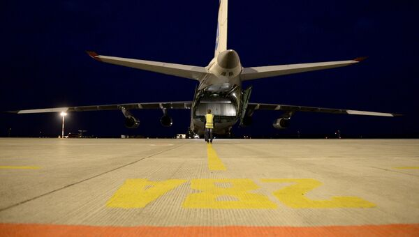 Военно-транспортный самолет Ан-124-100 Руслан, архивное фото